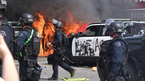 Más de 25 ciudades de EE.UU. declaran el toque de queda y la Guardia Nacional se moviliza tras otra jornada de disturbios