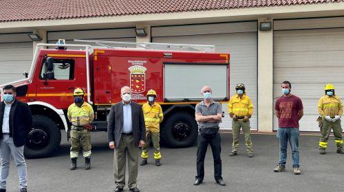 El Cabildo de La Gomera incorpora un nuevo vehículo autobomba para la lucha contra incendios