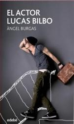 El actor Lucas Bilbo Àngel Burgas