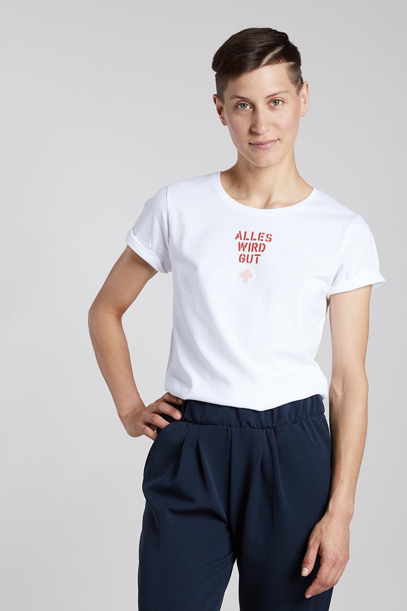 ALLES WIRD GUT - Damenshirt von Elternhaus