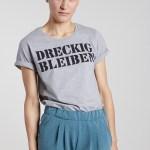 DRECKIG BLEIBEN - Damenshirt von Elternhaus