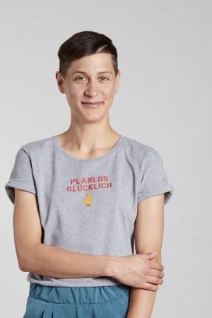 PLANLOS GLÜCKLICH - Damenshirt von Elternhaus