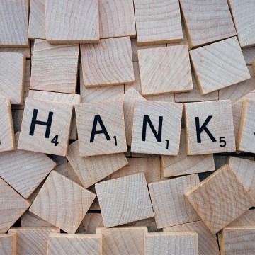 Danksagung des Fördervereins