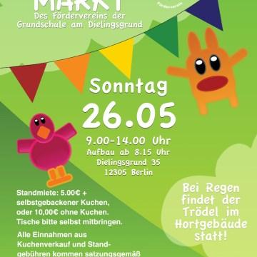Trödelmarkt am Wahlsonntag, 26.5.19