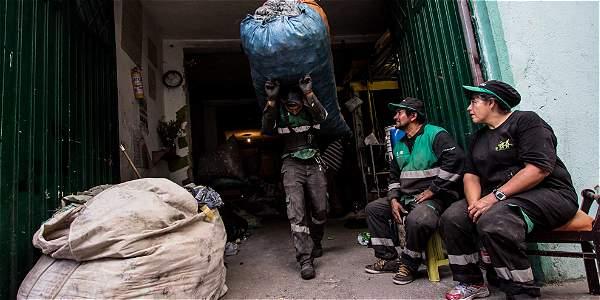 Sede de la Entidad Mediambiental de Recicladores (EMRS), donde le apuestan a un modelo de trabajo igualitario.