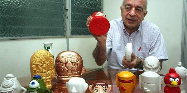 El profesor Silvio Delvasto dice que la industria de la cerámica tiene ahora una materia prima de calidad y a la mano.
