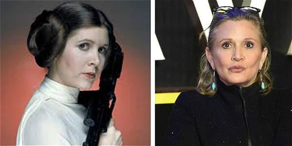 Carrie Fisher, la actriz que inmortalizó al personaje de la princesa Leia en la saga de ciencia ficción Star Wars, falleció este martes.