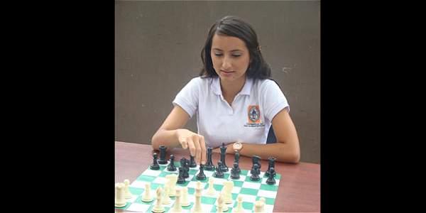Daniela Guarín, 23 años, ganadora en la categoría Deportes del concurso Mujeres Jóvenes Talento.