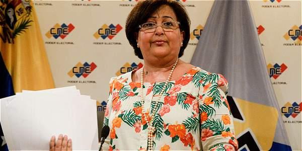 Tibisay Lucena, presidenta del Consejo Nacional Electoral, dijo que nunca dio la sensación de que no habría elecciones este año.