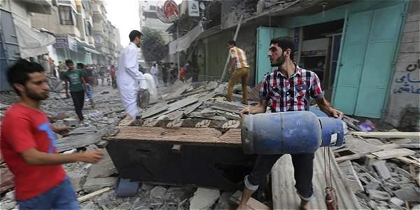 La gran mayoría de los 337 palestinos muertos en el conflicto  son civiles.