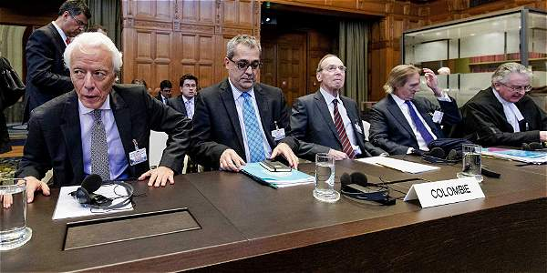 El presidente Juan Manuel Santos dio una negativa rotunda a comparecer más ante la Corte Internacional de La Haya.