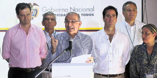 El equipo del Gobierno regresará a La Habana apenas estén en libertad el general Alzate y otros 4 secuestrados.