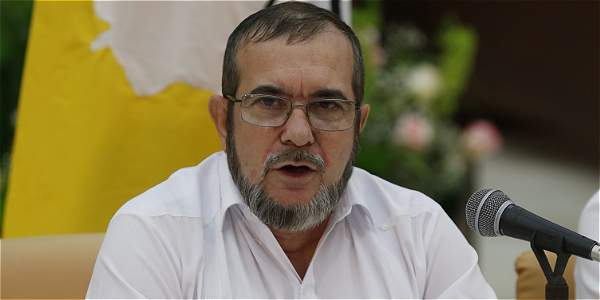 El líder de las Farc Rodrigo Londoño, alias Timochenko.