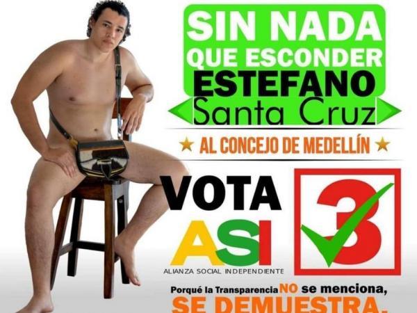 Candidato desnudo
