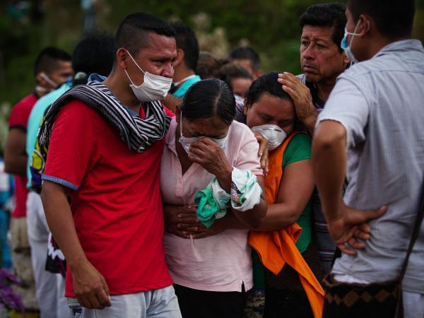 El dolor de las familias en Mocoa
