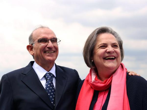 Humberto de la Calle y Clara López