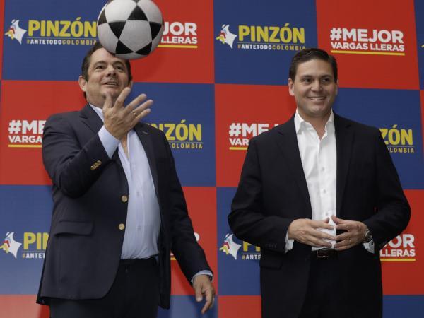 Germán Vargas Lleras y Juan Carlos Pinzón Bueno