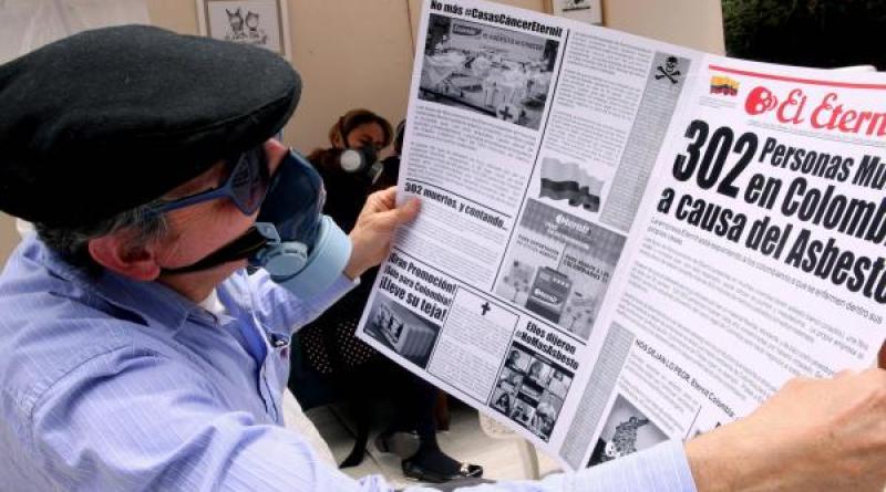 Colombia. El Congreso prohíbe totalmente el  ASBESTO