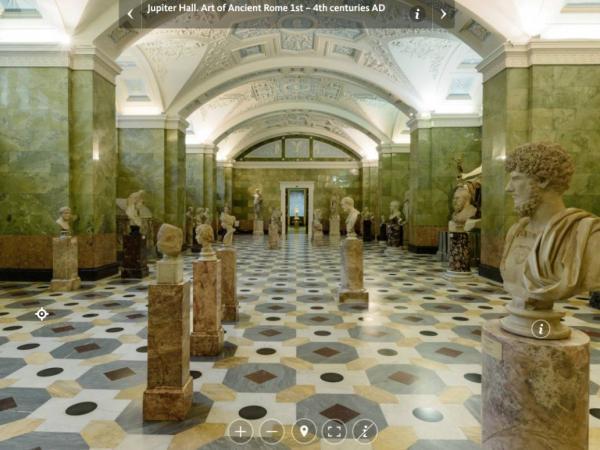 Visita virtual museo Hermitage