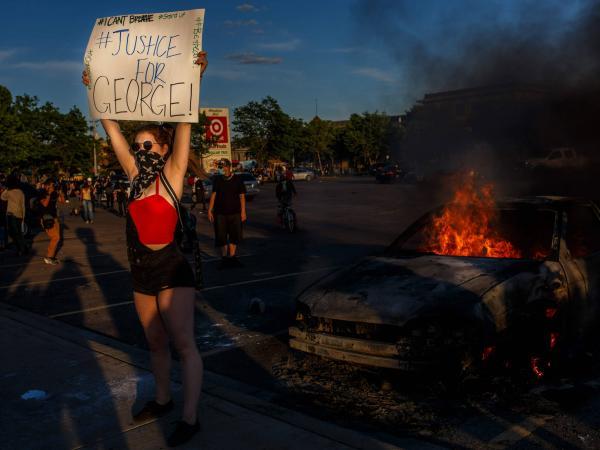 Tercera jornada de protestas en Estados Unidos por la muerte de ...