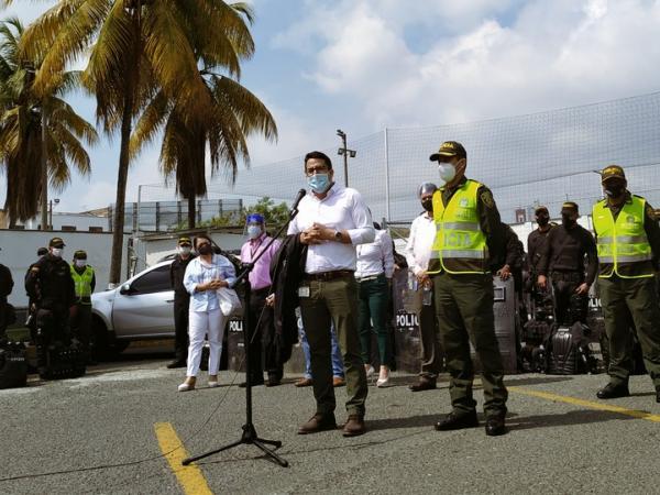 Protestas en Cali