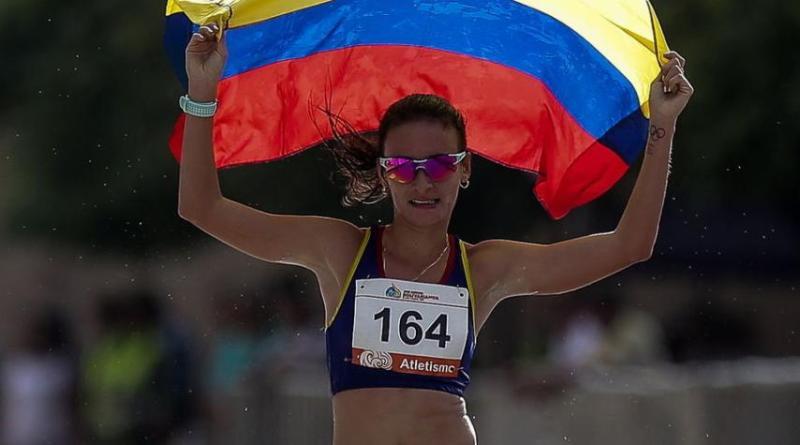 Marchista Sandra Lorena Arenas Campuzano, primera colombiana con cupo a Olímpicos 2020