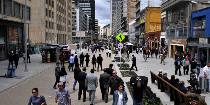 Población de Bogotá