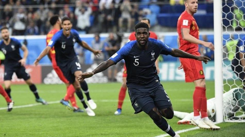Resultado de imagen de francia belgica mundial 2018 final