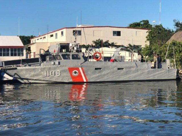 La Armada en 2012 impactó otra lancha pesquera