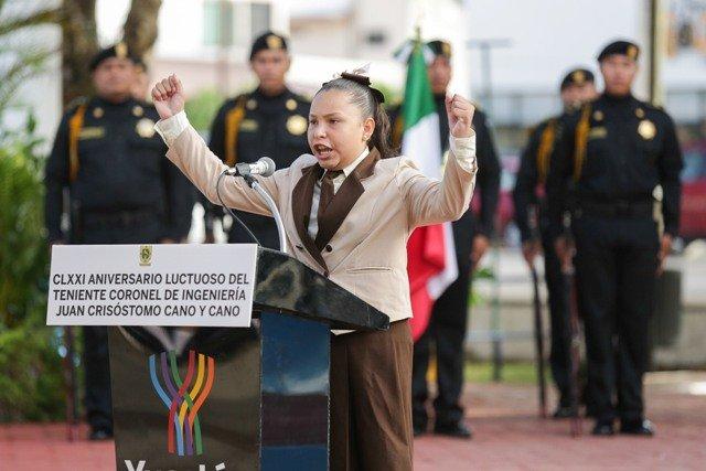 Actuar de Niños Héroes, ejemplo para las nuevas generaciones mexicanas