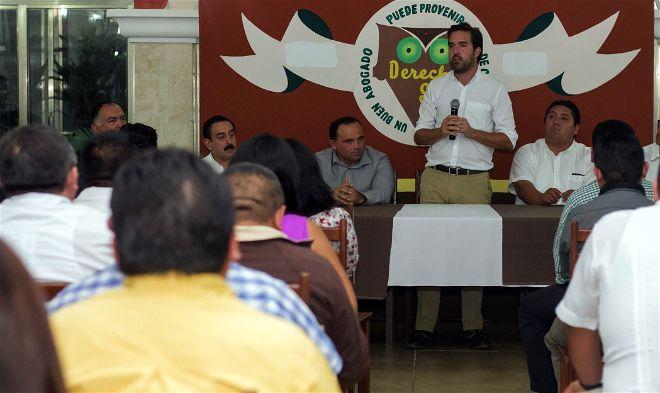 Profesionales del derecho destacan trabajo de legislación de Pablo Gamboa