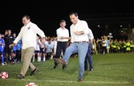 "El Gobernador inaugura la Liga de Fútbol ""Eric Díaz Palma"""