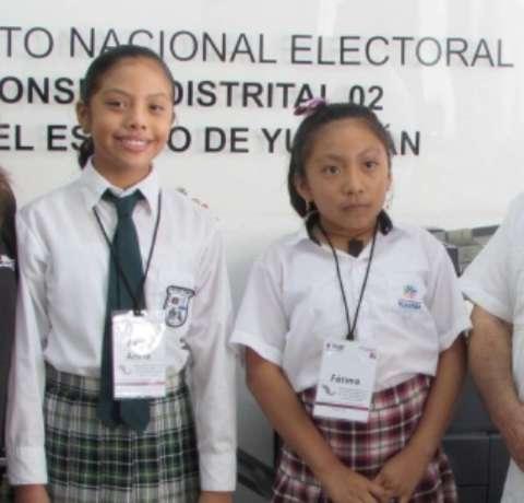 Los niños exigen un México sin violencia