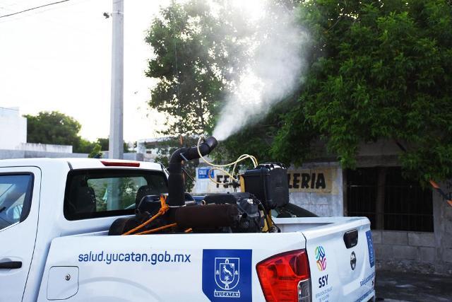 Mantendrá SSY paso firme en combate al dengue