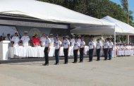 Ceremonia de despedida a los conscriptos
