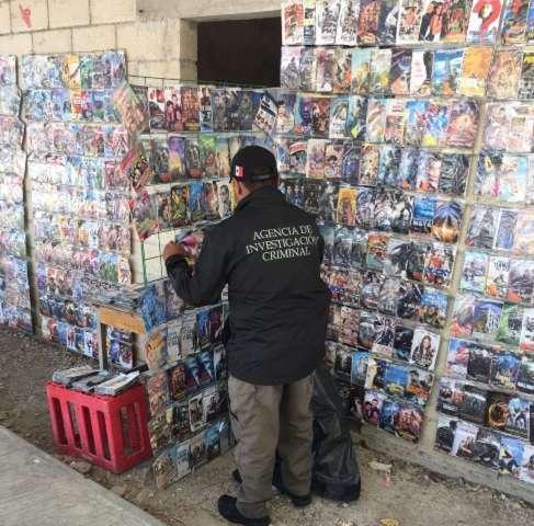 Aseguran discos falsos en el puerto de Progreso
