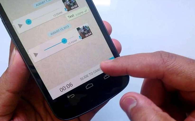 WhatsApp elimina la grabadora de audio