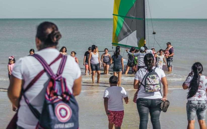 """Impulsarán más el """"Navega a Vela"""" entre niños progreseños"""