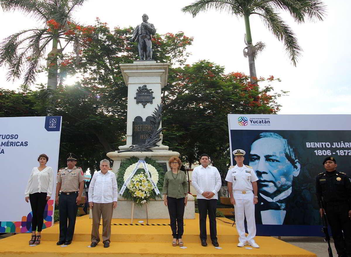 Convocan a preservar ideales juaristas en Yucatán