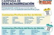 Campaña de descacharrización el sábado 15 de junio