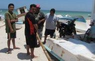 Pescadores listos para comenzar la captura de pulpo