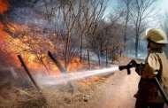 Dependencias se coordinan en el combate de incendios