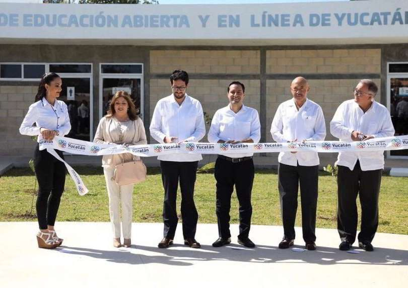 Inauguran Centro de Educación en Línea