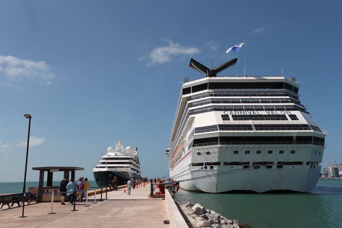 Cruceros de clase premier incluyen a Yucatán