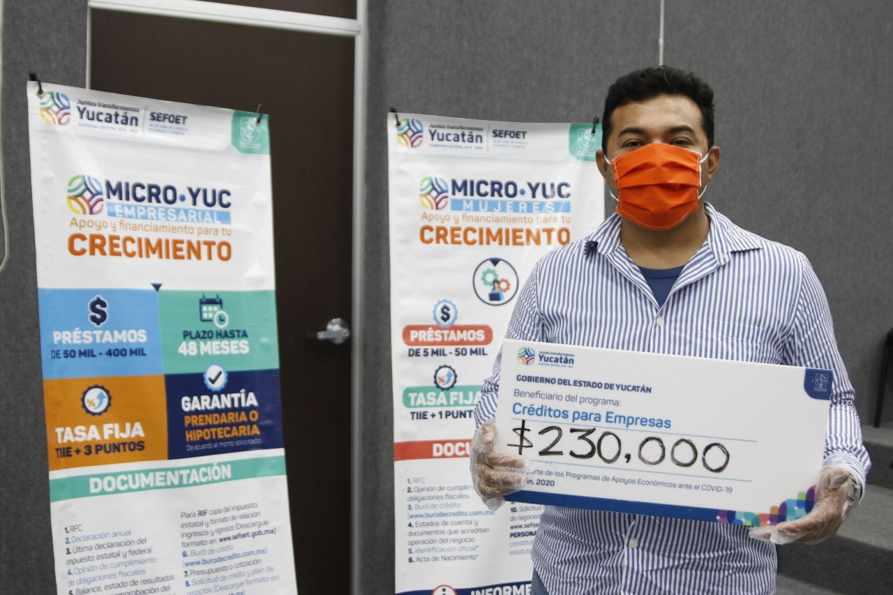 Incrementa número de beneficiados con créditos Microyuc