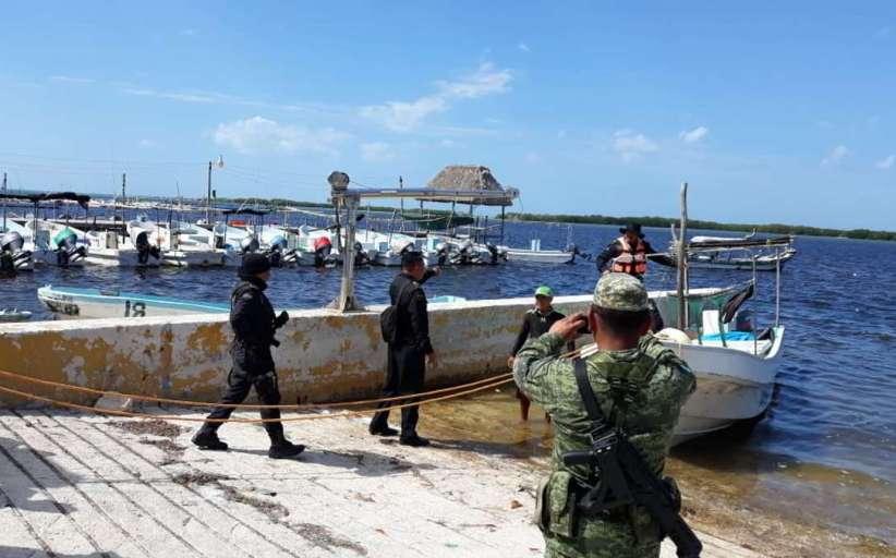Detienen a 5 personas por pesca furtiva en San Felipe