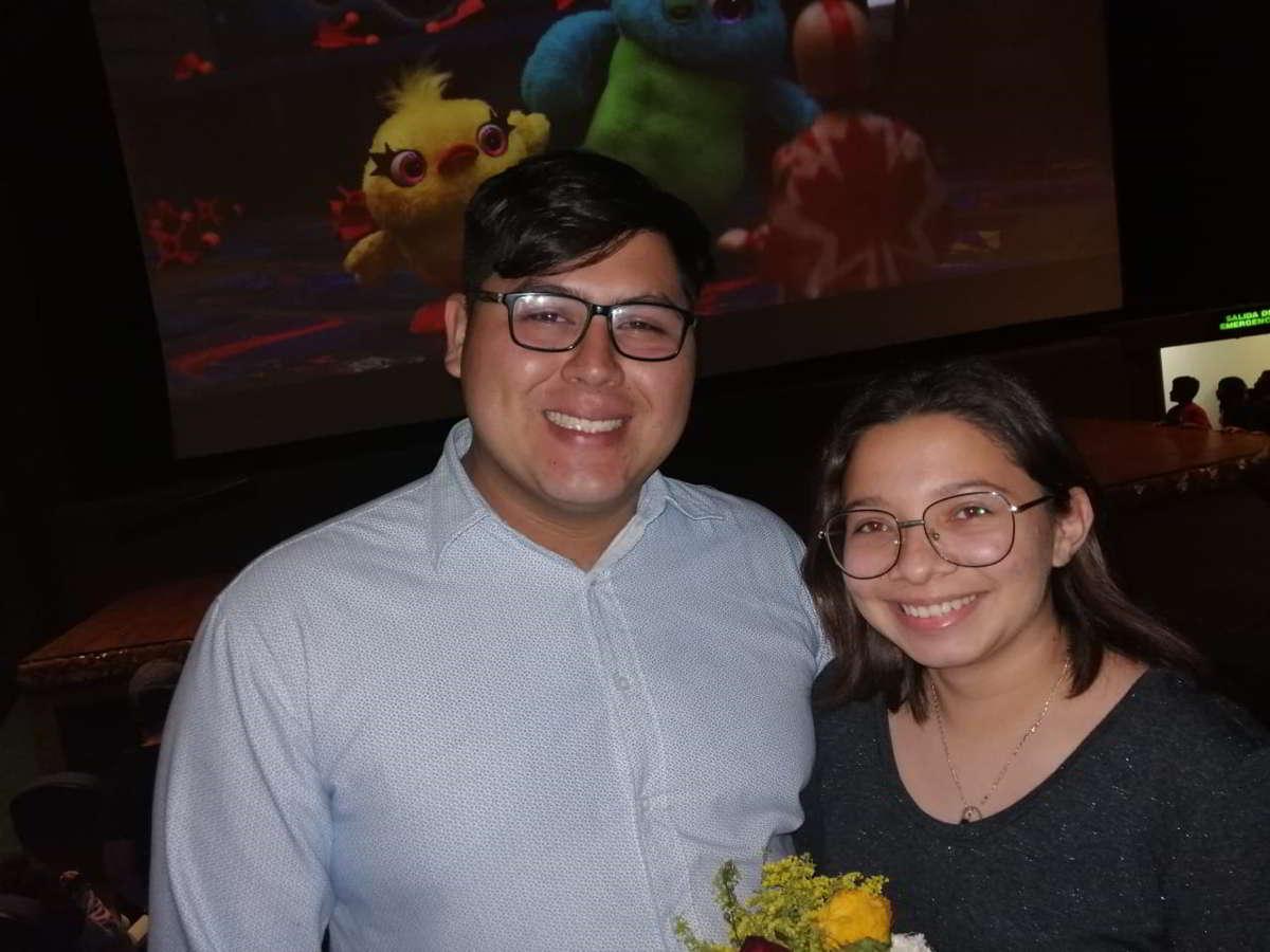 """""""Toy Story 4"""" escenario para proponerle matrimonio a su novia"""