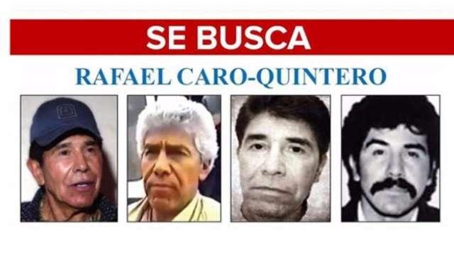 FBI incluye a Rafael Caro Quintero en lista de los más buscados