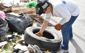 Concluye segundo operativo de descacharrización de Mérida y comisarías