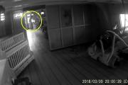 Graban fantasma en un buque de 1805